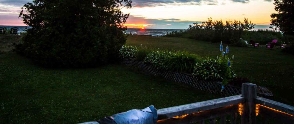 Sauble beach sunset Lake Huron
